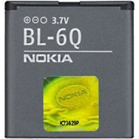 Mobile phones batteries Nokia BL-6Q